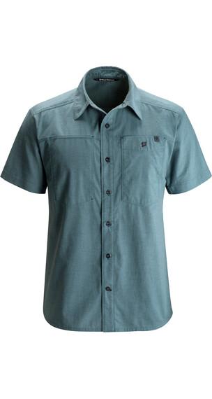 Black Diamond M's Chambray Modernist S/S Shirt Adriatic